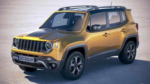3D model jeep renegade 2019