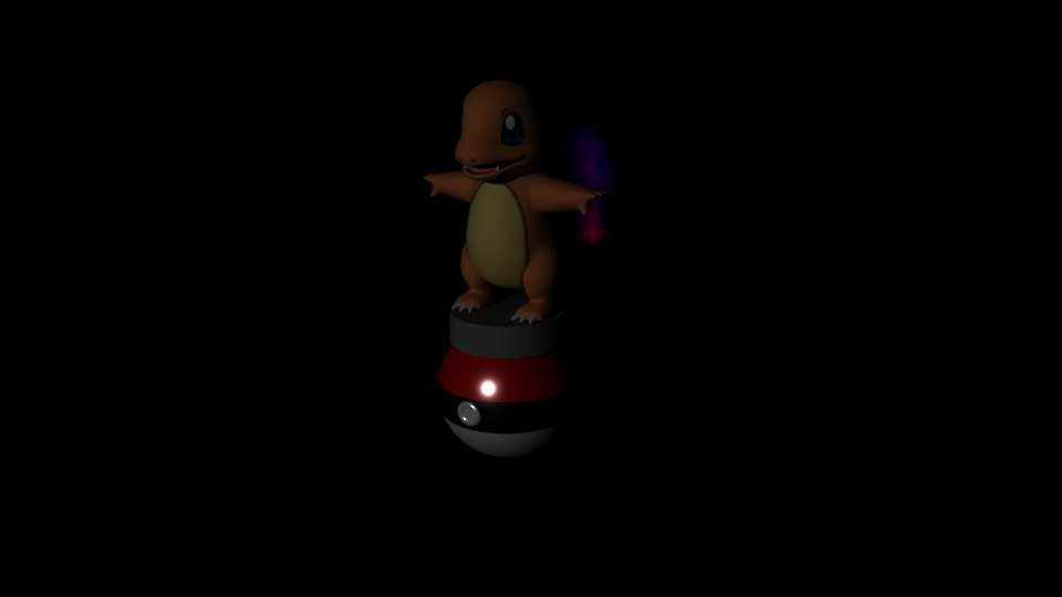 pokemon charmander animation 3D model