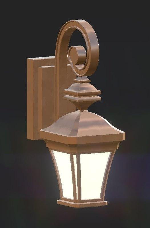 3D lantern pack