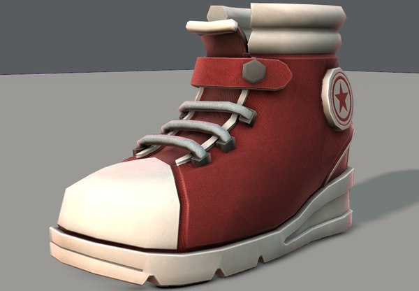 shoes cartoonv05 character cartoon 3D