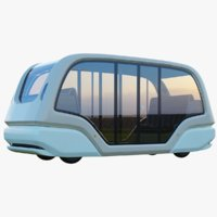 Driver-less Electric Bus Pod