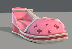 shoes cartoonv06 character cartoon 3D
