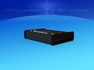 3D model roland csq-600