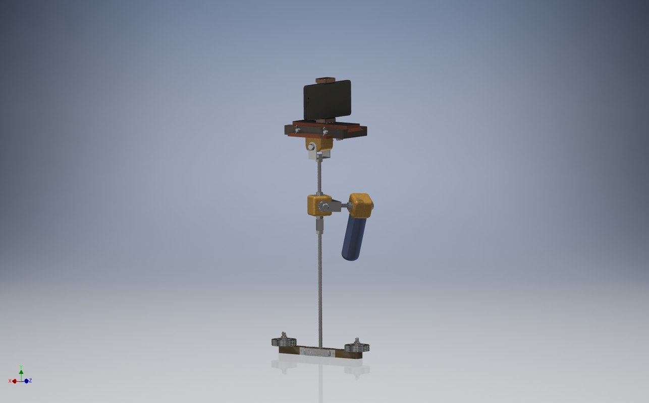 3D precision stabilizer model
