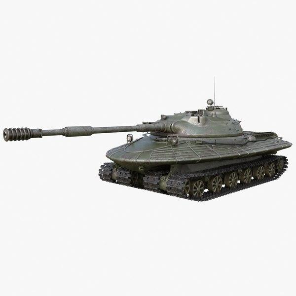 3D tank object 279 soviet