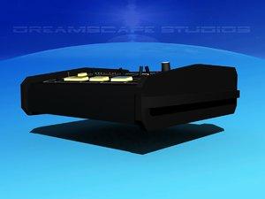 roland csq-100 3D model