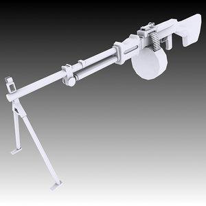3D model soviet rpd