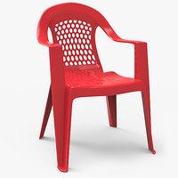 plastic chair outdoor model
