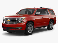 chevrolet tahoe 2018 3D model