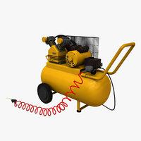 3D air compressor