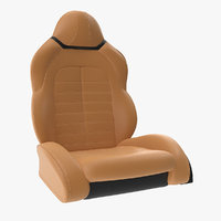 Sports Car Front Seat