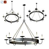 napa wine barrel chandelier model
