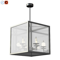 Manor IndoorOutdoor Glass Pendant