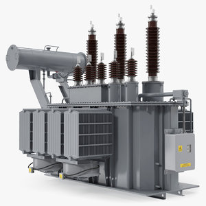 3D overload distribution power transformer