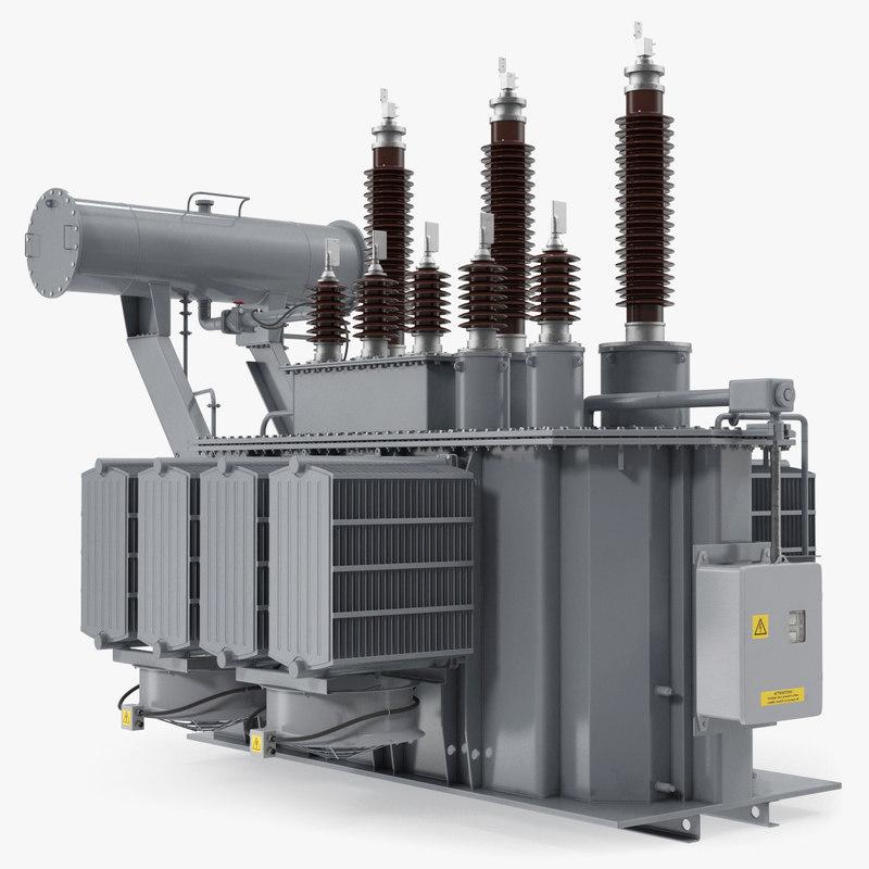 3D overload distribution power transformer