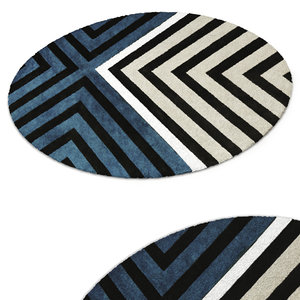 3D wool carpet