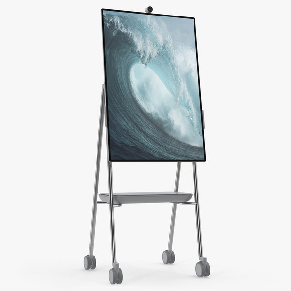 3D model microsoft interactive whiteboard surface