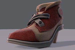 3D shoes cartoonv07 character cartoon