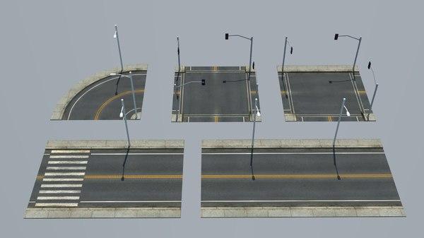 3D model street pack