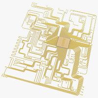 electronic circuit 3D