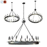 dunbar chandelier 3D