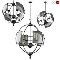 3D hayden orb chandelier