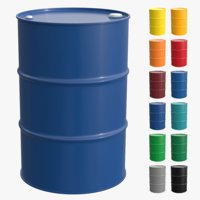 Steel barrel (12 colors options)