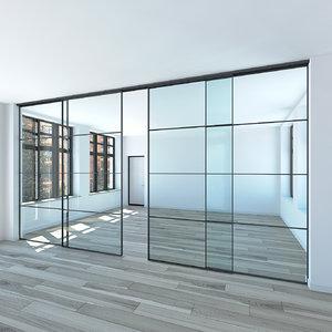 raumplus partitional wall 3D