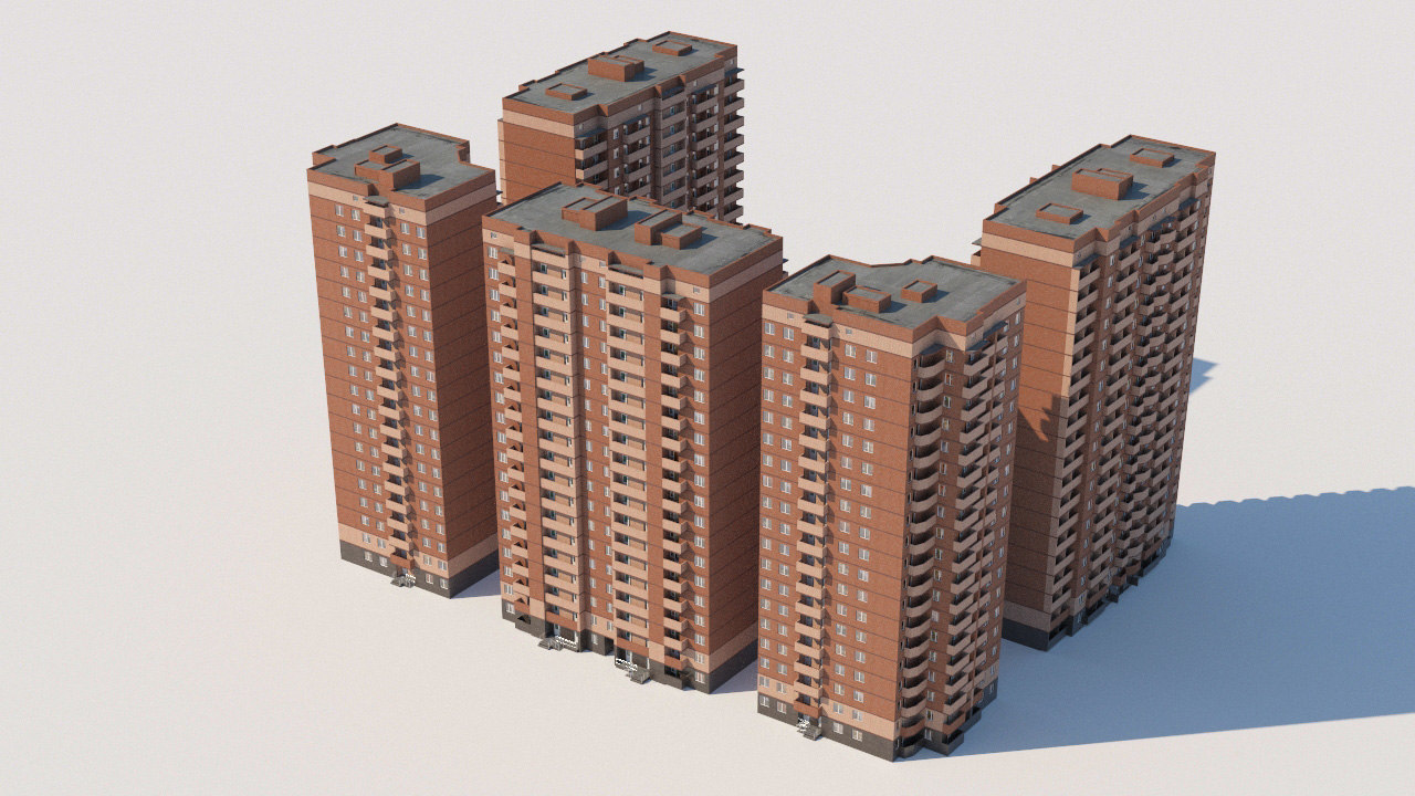 moscow architectural 3D