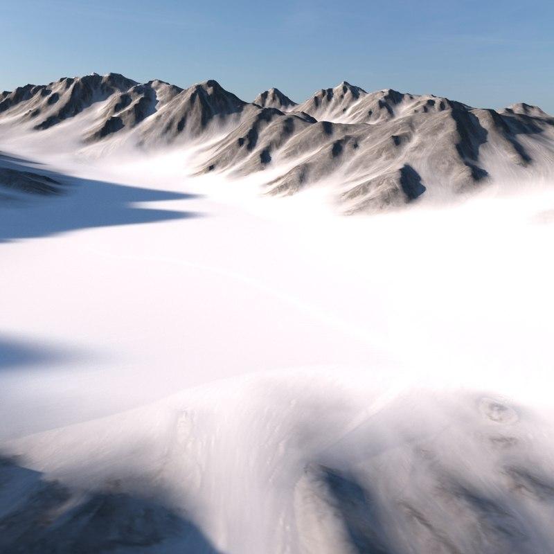 landscape land scape 3D