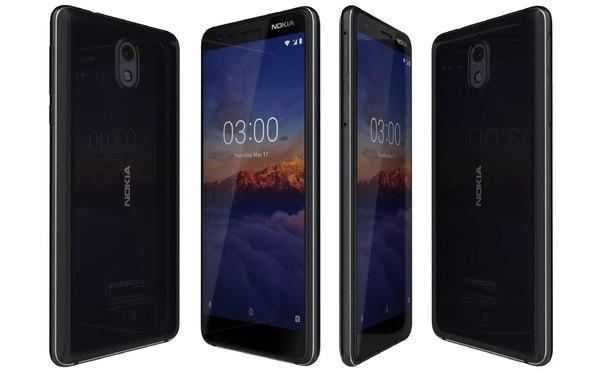 nokia 3 1 black model