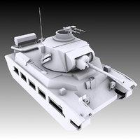 matilda tank 3D model
