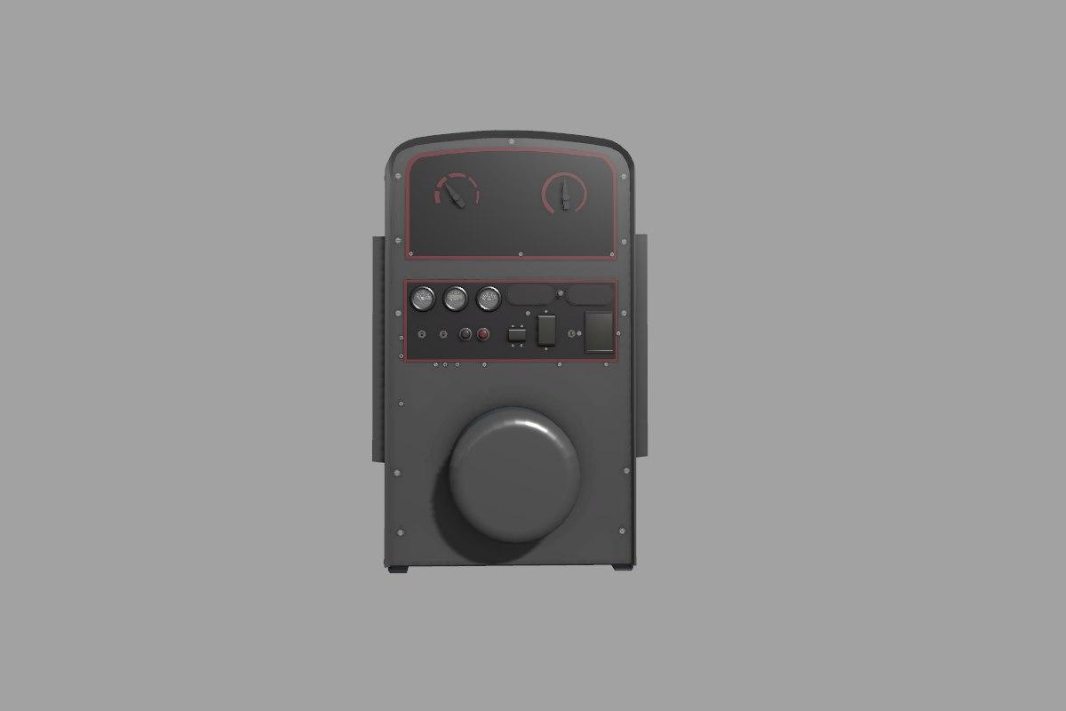 electric sa 200 welder 3D