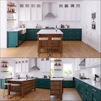 3D kitchen bosch microwave