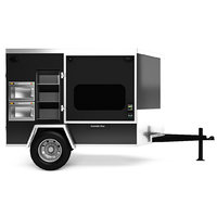 vending trailer food 3D model
