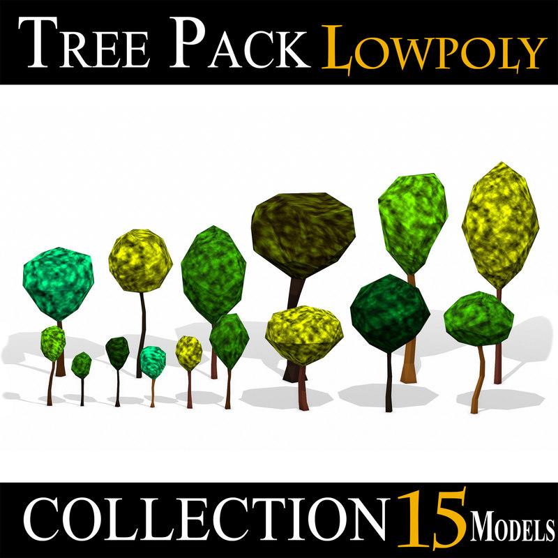 3D tree pack