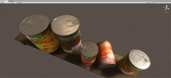 3D tin unity3d realtime