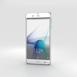 sharp aquos xx3 3D model