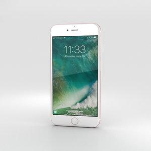 3D iphone apple 7