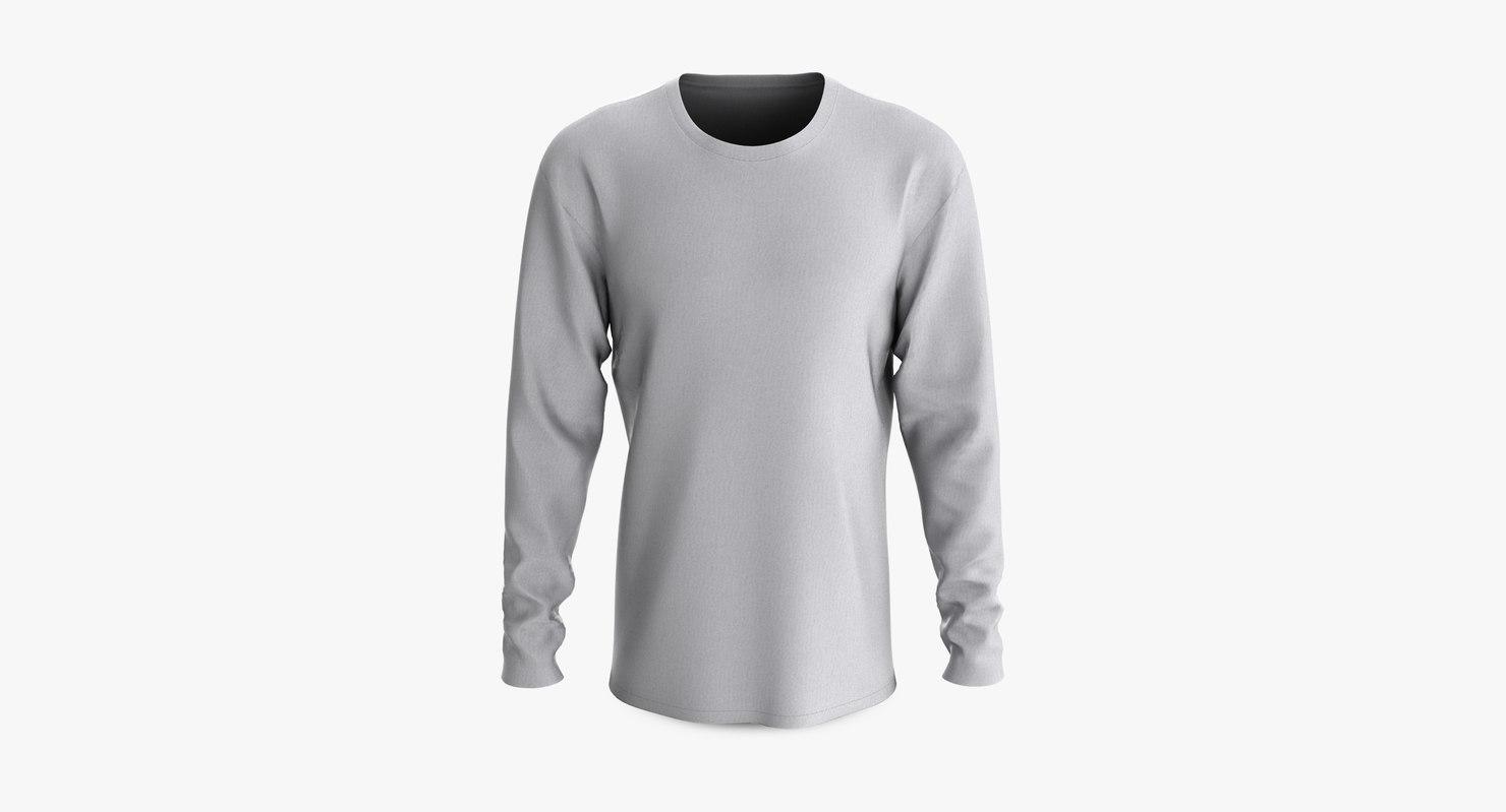 3D cotton male t-shirt dropped