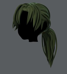 hair style girl v26 model