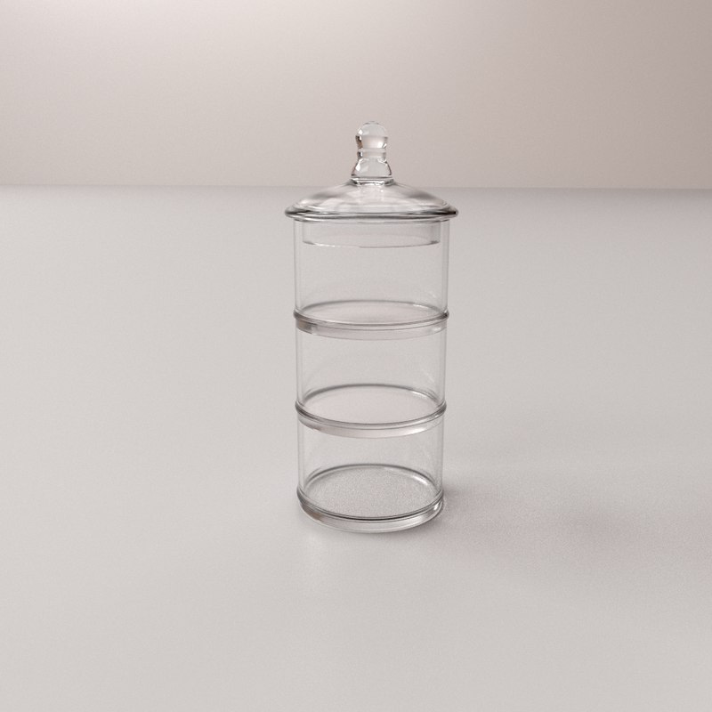 acrylic spice container v2 model