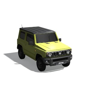 3D model small 4x4