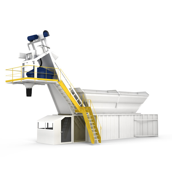 3D compact batching plant