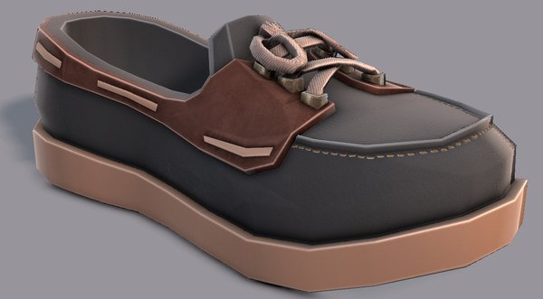 3D shoes cartoonv09 character cartoon