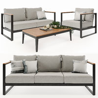 Barcelona Outdoor Sofa