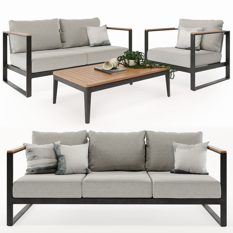 3D furniture barcelona outdoor