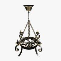 medieval lamp model