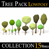 Simple Tree Pack - LOW POLY