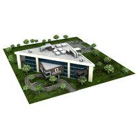 3D hospital model